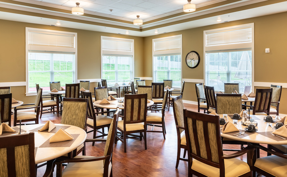 Assisted Living Dining Room